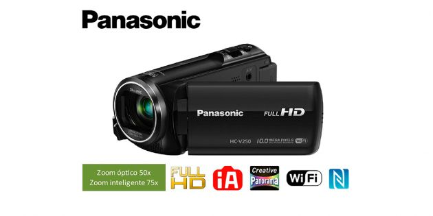 Filmadora digital FULL HD Panasonic - HC-V250