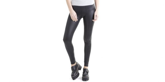 Legging serpiente negro