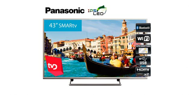 Televisor SMART LED 43'' Full HD Panasonic TC-43CS630