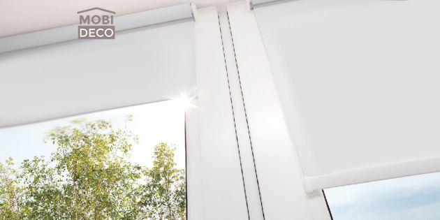 Cortinas Roller Blackout Blanco