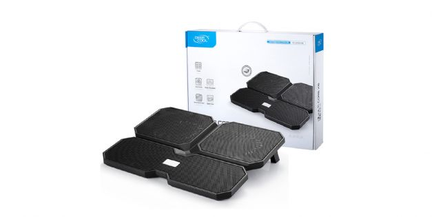 Bandeja notebook Deepcool Multi Core X6 + puerto USB