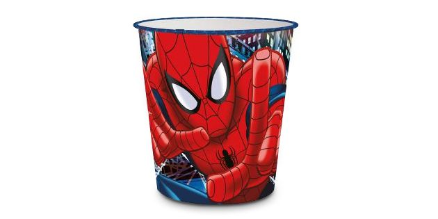 PAPELERA 5LTS SPIDERMAN