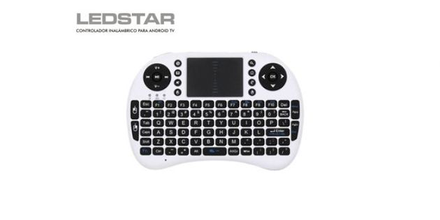 Teclado inalámbrico Ledstar para Smart TV