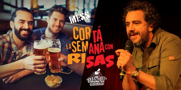 Stand Up + Cena para 2 o 4 - Mess Bar