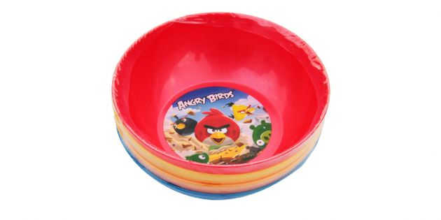 4 Bowls set  ANGRY BIRDS