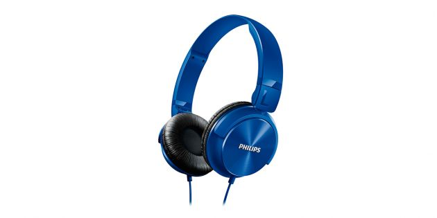 Auricular PHILIPS SHL3060BL color azul