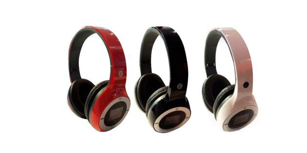 Auricular con Reproductor MP3 Micro SD
