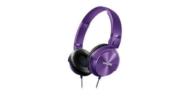 Auricular PHILIPS SHL3060PP color violeta