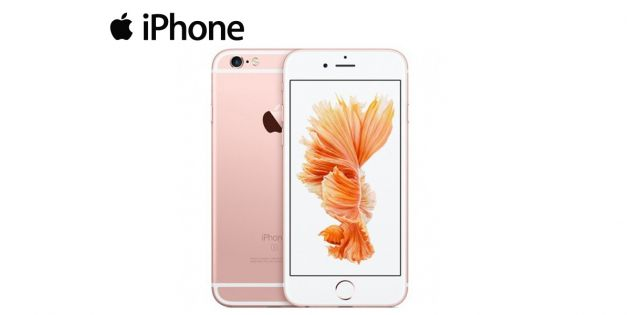 Iphone 6s 64GB Rosado