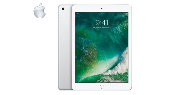 Apple iPad 2017 128GB 4G silver