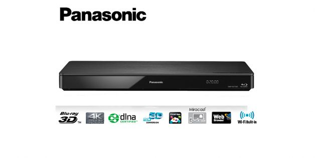 Reproductor de BluRay DMP-BDT360 - Panasonic