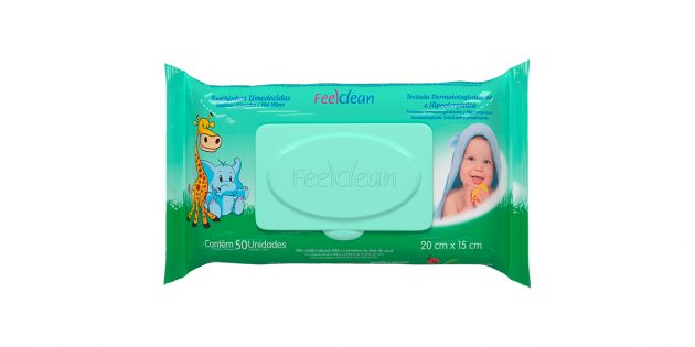 Toallitas de bebe Feel Clean Flow Pack 50u