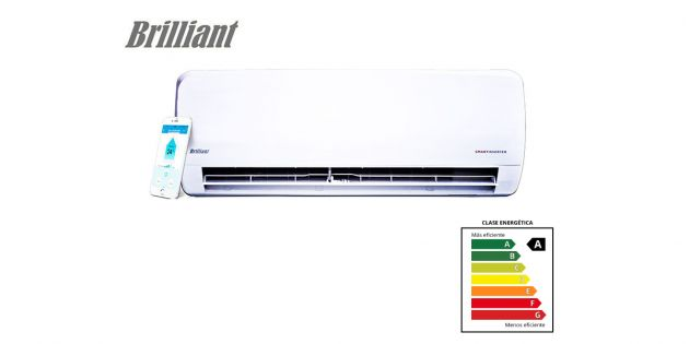 Aire Acondicionado Brilliant Smart Inverter 12000 BTU