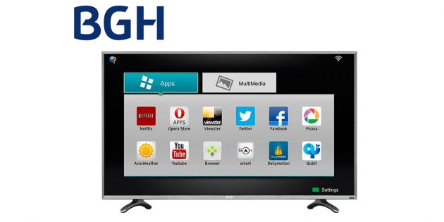 TV LED SMART BGH 32 HD BLE3215RTIUY