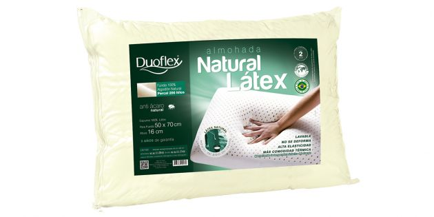 Almohada Viscoelástica Natural Latex Duoflex