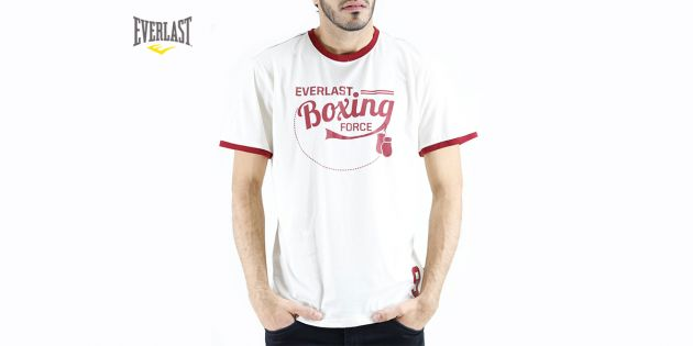Remera estampada Boxing