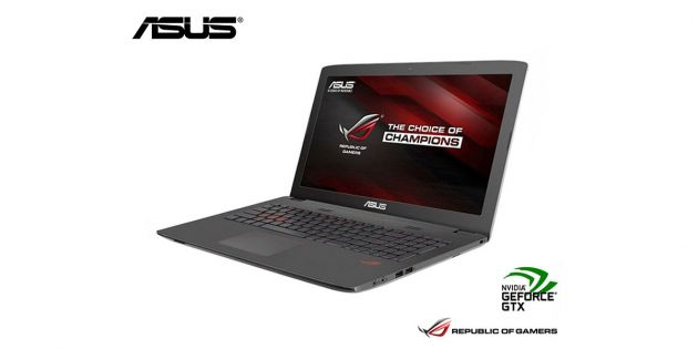 Notebook Asus Gamer Core i7 3.5Ghz GL752VW-T4283T