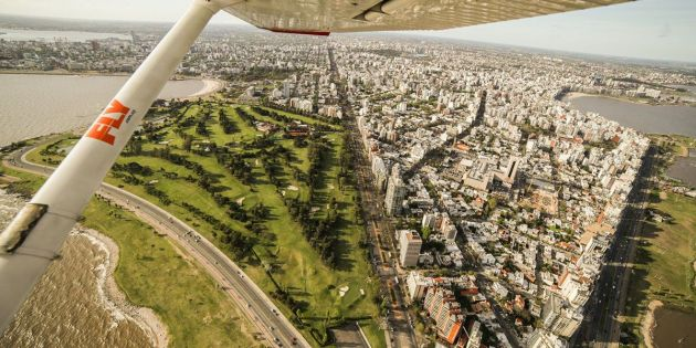 Vuelo panoramico Montevideo - Fly
