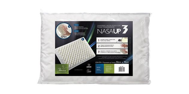 Almohada Viscoelastica NASA UP3