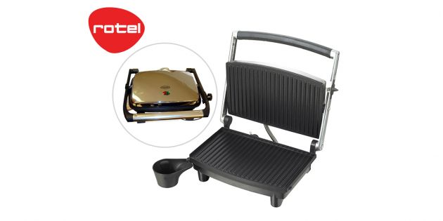 Contact Grill profesional Rotel