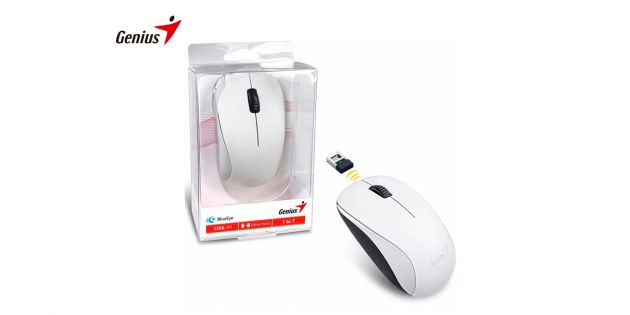Mouse inalambrico Genius NX-7000 USB blanco