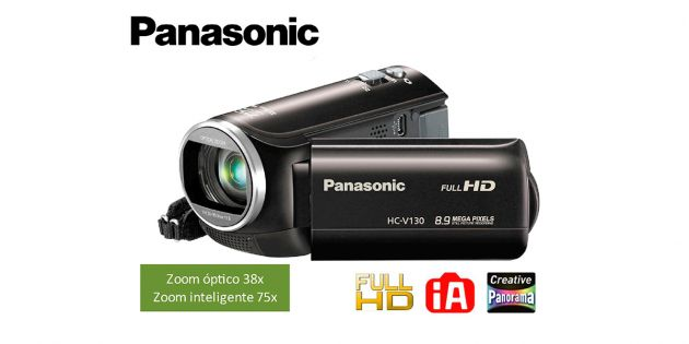 Filmadora digital Panasonic FULL HD - HC-V130