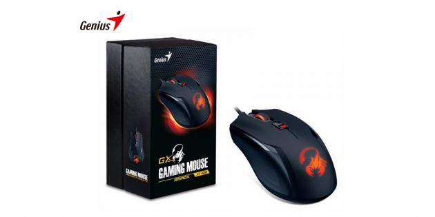 Mouse Gamer Genius X1-400