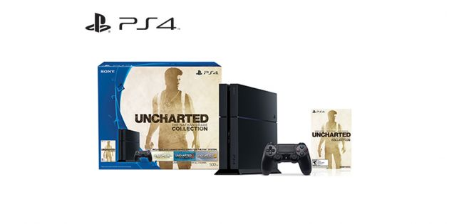 Playstation 4 500GB + Uncharted Collection