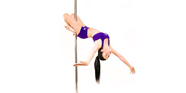 4 clases de Pole sport, Telas o Aros - Fly Up Pole & Fitness