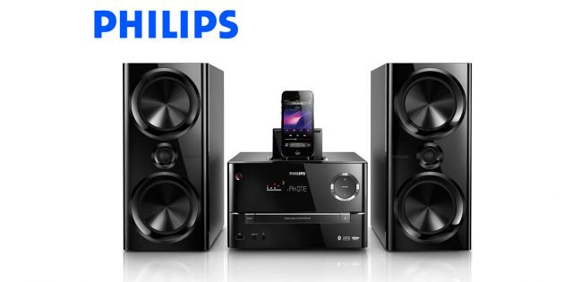 Microsistema Philips Bluetooth/iPH5/USB