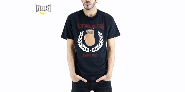 Remera estampada Vintage boxing
