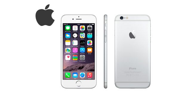 Iphone 6 16GB color Silver