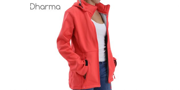 Campera windproof mujer Dharma