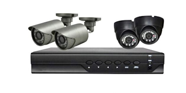 Kit de seguridad Safesky con DVR HD 4 cámaras