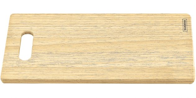 Tabla rectangular de madera