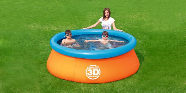Piscinas e inflables woow uruguay for Piscina inflable bestway