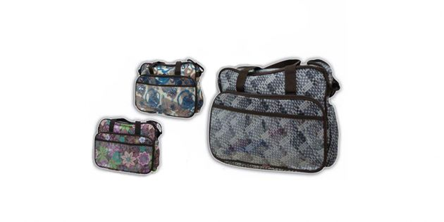 Bolso maternal estampado