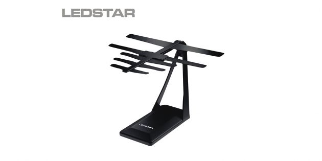 Antena interior LEDSTAR TV digital ISDB-T