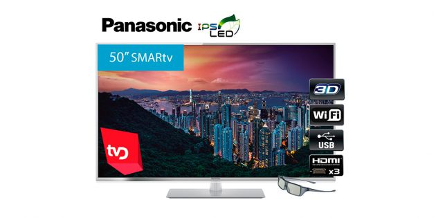 Televisor SMART 3D LED 50'' Full HD Panasonic TC-50ET60