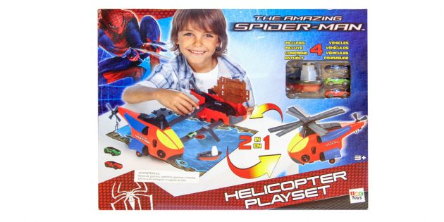 PLAYSET HELICOPTERO SPIDERMAN