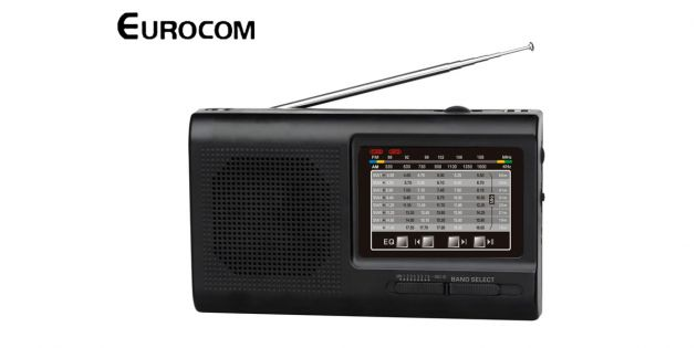 Radio EUROCOM K9015 USB - SD