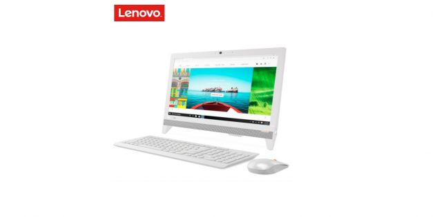 All in One Lenovo 310-20IAP color blanco
