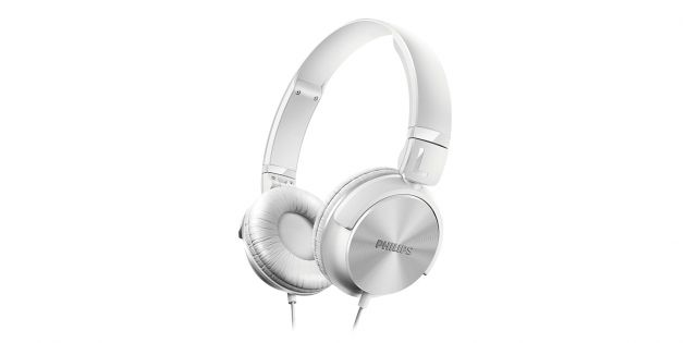 Auricular PHILIPS SHL3060WT color blanco