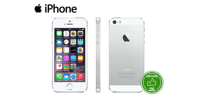 Iphone 5s 16GB Pre-owned Silver