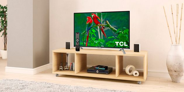 Smart TV TCL 32 + Rack color Arena DE REGALO