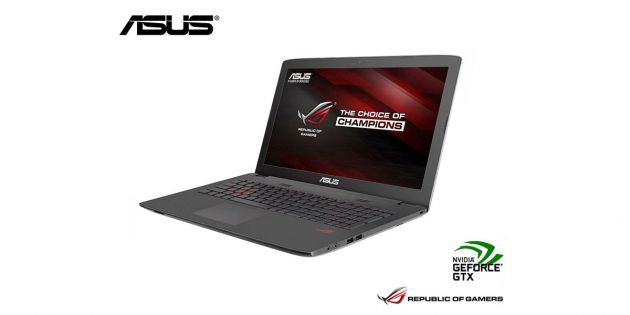 Notebook Asus Gamer Core i7 3.5Ghz G552VW-CN769T