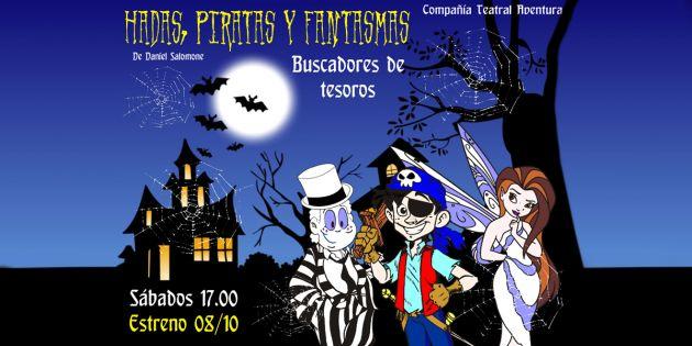 Hadas, piratas y fantasmas - PlateaSur