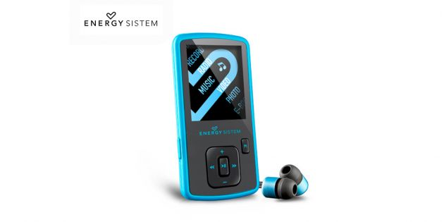 Reproductor MP4 energy sistem slim 8Gb