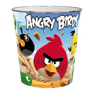 PAPELERA 5LTS ANGRY BIRDS