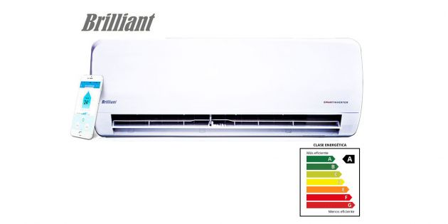 Aire Acondicionado Brilliant Smart Inverter 9000 BTU